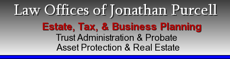 Jonathan Purcell Estate Planning  Attorney